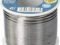 Ferrestock FSKSOE250 Carrete de Alambre Soldadura Blanda de 250g, 1mm de diámetro