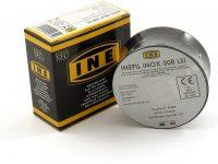 Proweltek-Ine PR1035 - Bobina de hilo de acero inoxidable para soldadura, MIG-MAG, diámetro 0,8mm, 400g