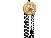 Polipasto de cadena de acero 1 tonelada Ayerbe