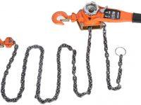 Polipasto de cadena de acero Aramox
