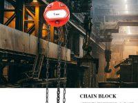 Polipasto de cadena de acero Dybory