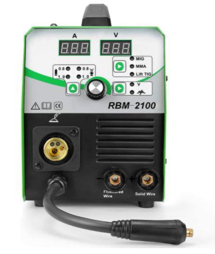 Reseña Completa Soldador Reboot MIG 210A IGBT 230V